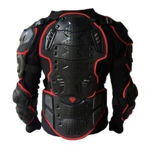 BA-03 SUV motor fiets Outdoor sporten Armor beschermende jas  maat: XXXL(Red)