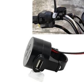Snellader van universele motorfiets USB telefoon lader 5V 2A Output