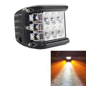 4 inch 45W 4500LM LED werk licht Bar side shooter combo Beam wit + geel rijden offroad