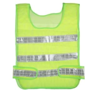 Reflective Fluorescent Vest Safty Cloth Driving School Construction Traffic Safty Warning Working Cloth(Green)