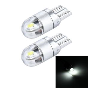 2 PCS T10 2W 150 LM 6000K 2 SMD-3030 LED Car Clearance Lights Lamp  DC 12V(White Light)