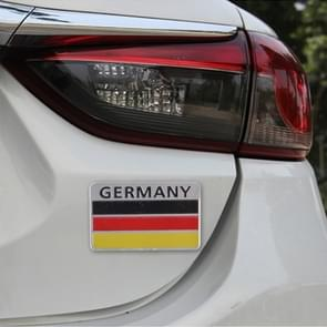 Germany Flag Style Metal Car Sticker