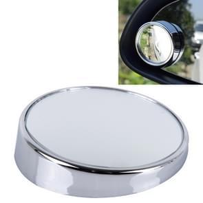 3R-023 auto Dodehoek groothoek achteruitkijkspiegel  Diameter: 7.5cm(Silver)