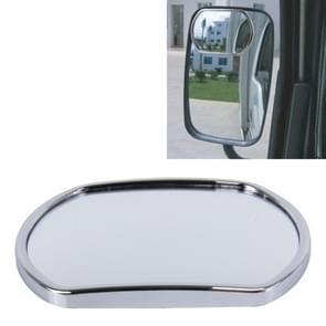 3R-025 Truck Dodehoek groothoek achteruitkijkspiegel  formaat: 14cm à 10.5cm(Silver)