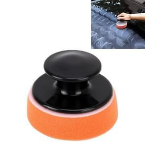 Auto polijsten spons ronde spons High-density spons  grootte: 7.5 * 5 cm
