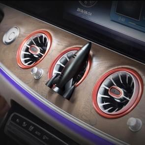 Universal Car Air Vent Clamp Perfume Fragrance Diffuser Air Freshener (Black)