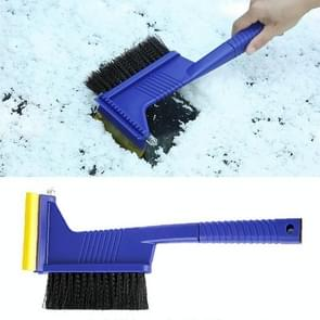 Car Snow Shovel Auto Ice Scraper Winter Road Safety Cleaning Tools Defrost Deicing Removal, with Brush and Safe Hammer