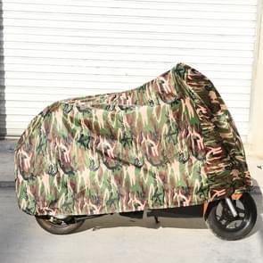 190T Polyester Taffeta All seizoen waterdichte motorfiets Sun Mountain Bike Cover stof & Anti-UV-Outdoor Camouflage fiets beschermer  maat: XL