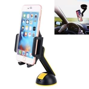 360 Degree Phone Rotary Suction Cup Holder Stand Mount, Clip Width: 5-10cm, For iPhone, Samsung, LG, Nokia, HTC, Huawei, and other Smartphones (Random Color Delivery)