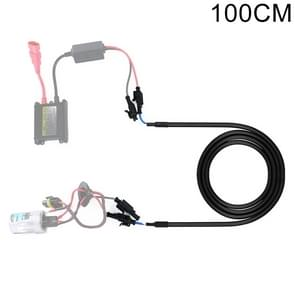 100cm auto HID Xenon Ballast hoogspanning Extension kabel harnas