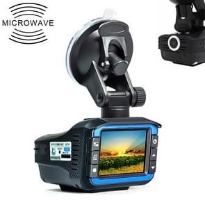 HD 720P 2.4 inch Video Camera Recorder DVR + Radar Detector, SQ Program, Support G-sensor / Night Vision