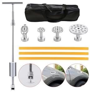 7 PCS Auto Repair Body Tool Kit PDR Dent Paintless Repair Tools Dent Puller T Bar Slide Hammer Reverse Hammer for Dent
