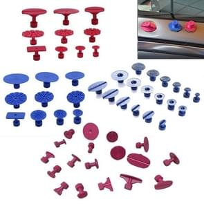 56 PCS Auto PDR Plastic Ding Glue Tabs Paintless Dent Removal Car Repair Tools Kits Glue Puller Sets Tabs PDR Tools