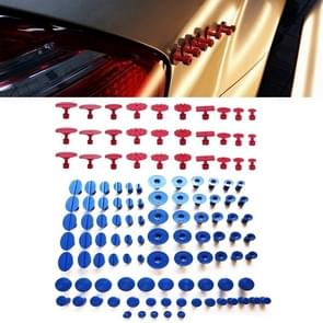 120 PCS Auto PDR Plastic Ding Glue Tabs Paintless Dent Removal Car Repair Tools Kits Glue Puller Sets Tabs PDR Tools