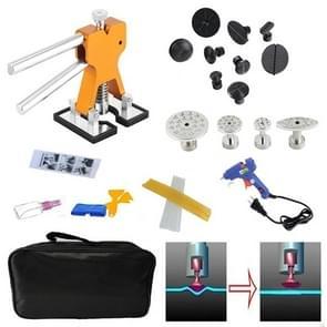 29 PCS Auto Car Dent Lifter-Glue Puller Aluminium Alloy Tab Bodywork Repair Tools Kit, with 20W Glue Gun, US Plug or EU Plug