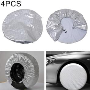 4 PCS Car Auto Wheel Tire Covers, Suitable for The Tire up to 29 inch