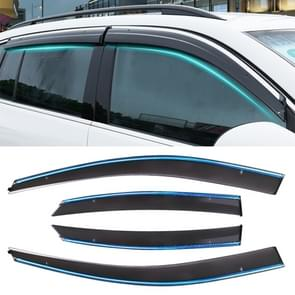 4 PCS Window Sunny Rain Visors Awnings Sunny Rain Guard for Ford Focus 2005-2011 Version Classic Style Sedan