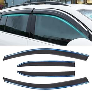 4 PCS Window Sunny Rain Visors Awnings Sunny Rain Guard for Toyota Corolla 2007-2013 Version