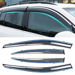 4 PCS Window Sunny Rain Visors Awnings Sunny Rain Guard for Honda CITY 2009-2014 Version