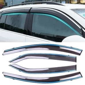 4 PCS Window Sunny Rain Visors Awnings Sunny Rain Guard for Toyota Corolla 2014-2018 Version