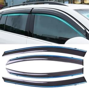 4 PCS Window Sunny Rain Visors Awnings Sunny Rain Guard for Honda CITY 2015-2018 Version