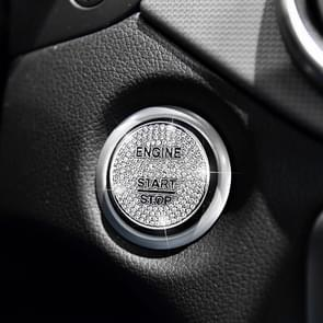 Car Engine Start Key Push Button Cover Trim Sticker Decoration for Mercedes-Benz