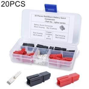 Anderson 20 PCS 30Amp auto batterij Quik Powerpole elektrische Connector stekker voor Golf kar / aanhanger / RV
