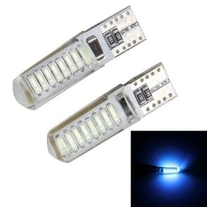 2PCS T10 3W 16 SMD-4014 LEDs Car Clearance Lights Lamp  DC 12V(Ice Blue Light)