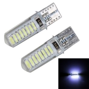 2PCS T10 3W 16 SMD-4014 LEDs Car Clearance Lights Lamp  DC 12V(White Light)