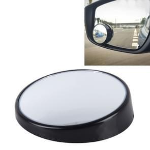 3R-023 auto Dodehoek groothoek achteruitkijkspiegel  Diameter: 7.5cm(Black)
