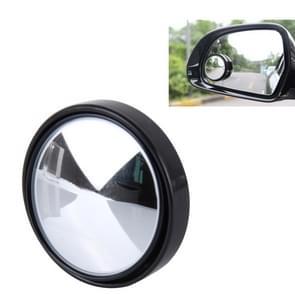 3R-035 auto Dodehoek groothoek achteruitkijkspiegel  Diameter: 5cm(Black)
