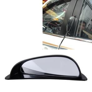 3R-090 auto Dodehoek achterzijde uitzicht groothoek Mirror(Black)
