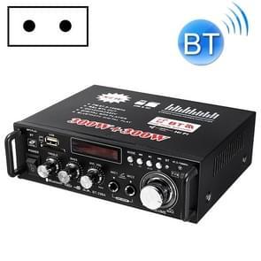 Auto/huishoudelijke versterker audio  ondersteuning van Bluetooth/MP3/USB/FM/SD-kaart met afstandsbediening  EU-plug