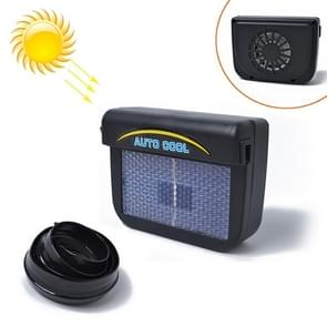 Car Auto Solar Powered Cool Air Vent Cooling Fan Cooler