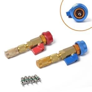 2 PCS R134A Car Air Condition Valve Core Remover Installer Repair Tool