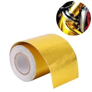 5m Exhaust Wrap Auto Motor Exhaust Heat Shield Aluminum Foil Paper Heat Resistant Wrap