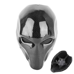 Carbon Fiber Texture Electromobile Motorcycle Protective Helmet Mask