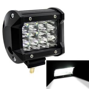 4 inch drie rijen Led Light Bar bewerkt Off-road lichten dak licht Bar IP67 waterdichte 36W condensor 6000K 5500LM LED Spotlight licht zoeklicht auto werk ledverlichting  DC 10-48V(White Light)