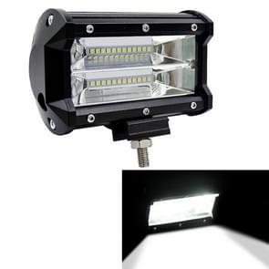 5 inch 72W 6000K 1080LM 24 waterdichte IP67 twee Bar bewerkt Off-road lichten Spotlight licht auto werk ledverlichting  DC 9-48V(White Light)