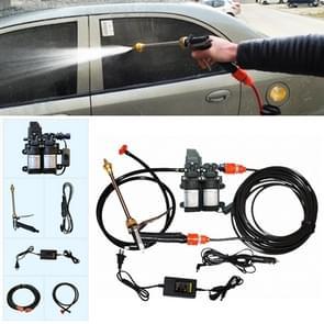 220V draagbare dubbele pomp + Power leveren hoge druk buiten auto wasmachine voertuig wassen Tools