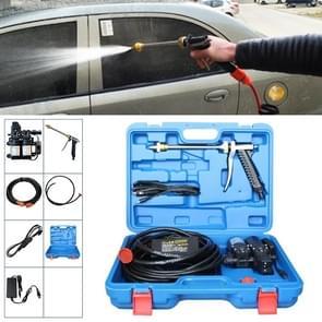 220V draagbare dubbele pomp + Power leveren hoge druk buiten auto wasmachine voertuig wassen Tools  met opbergdoos