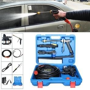 220V draagbare dubbele pomp + Power Supply + borstel hogedruk buiten auto wasmachine voertuig wassen Tools  met opbergdoos