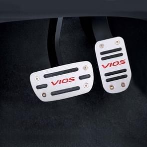 2 stuks automatische transmissie auto pedalen pads voor Toyota Vancoppenolle
