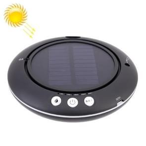Q1 Car / Household Solar Energy Air Purifier Negative Ions Air Cleaner + Humidification (Black)