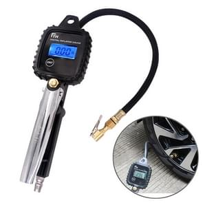 Car Multi-functional Digital LCD Display Tire Air Pressure Inflator Gauge Vehicle Tester Inflation Monitoring