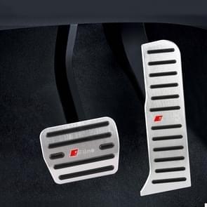 2 PCS Automatic Transmission Car Pedals Pads for Audi Q3