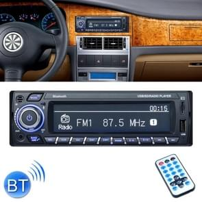 3101 Car Single Din Stereo Radio MP3 Audio Player with Remote Control, Support Bluetooth Hand-free Calling / FM / USB / SD Slot