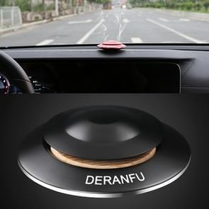 DERANFU Flying Saucer Shape Car Perfume Aromatherapy Decoration(Black)