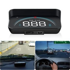 M8 3.5 inch Universal Car OBD2 HUD Vehicle-mounted Head Up Display