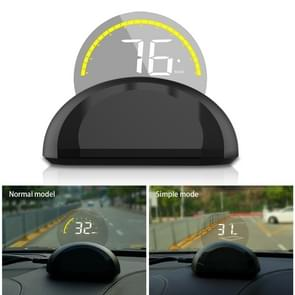 C700 2.6 inch Universal Car OBD2 HUD Vehicle-mounted Head Up Display